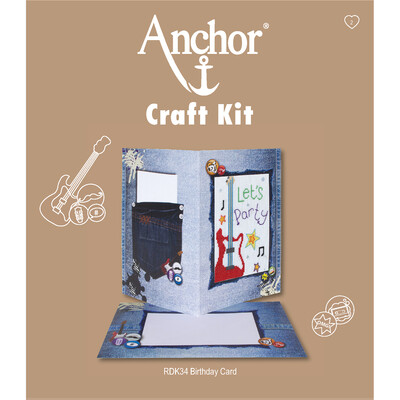 Anchor Craft Kit - Let's Party Card