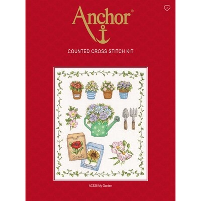 Anchor Essentials Cross Stitch Kit - My Garden