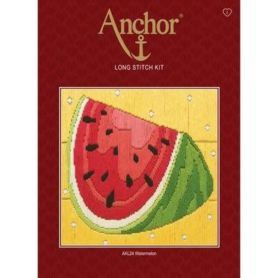 Anchor Starter Long Stitch Kit - Watermelon