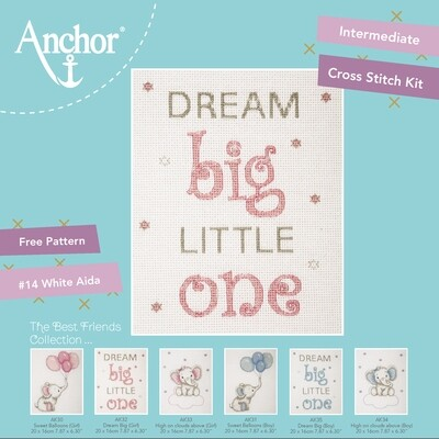 The Best Friends Collection - Dream Big (Pink) 20x16cm