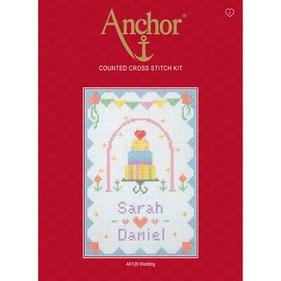 Anchor Starter Cross Stitch Kit - Wedding