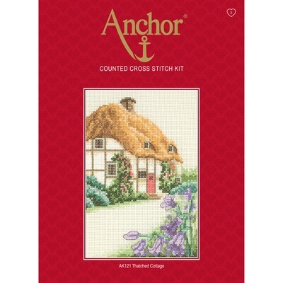 Anchor Starter Cross Stitch Kit - Thatched House