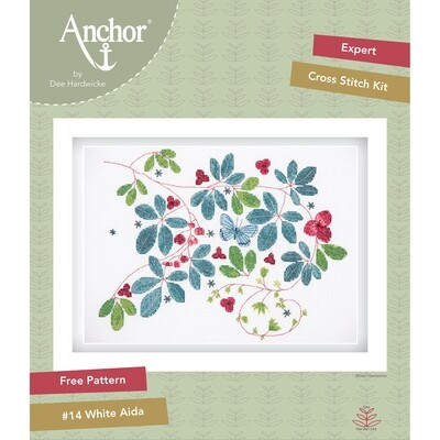 Anchor by Dee Hardwicke - Glasshouse Vine Cross Stitch Kit