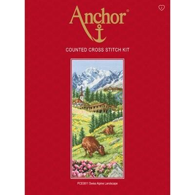 Anchor Essentials Cross Stitch Kit - Swiss Alpine