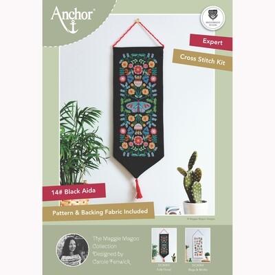 Kit Ponto Cruz Anchor Essentials - Floral