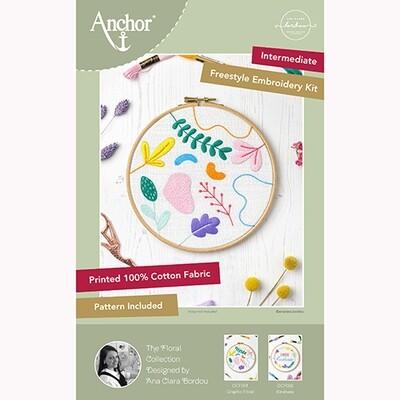 Kit Estilo Livre Anchor Essentials - Gráfico Floral