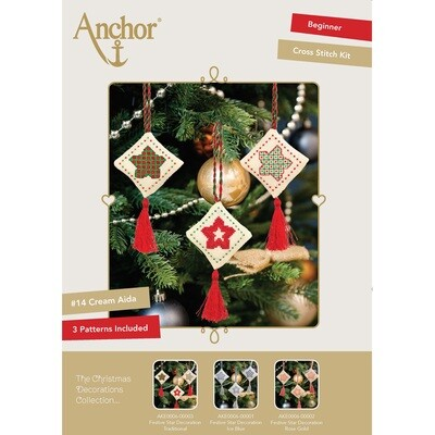 The Christmas Decorations Collection - Festive Star Decoration Traditional