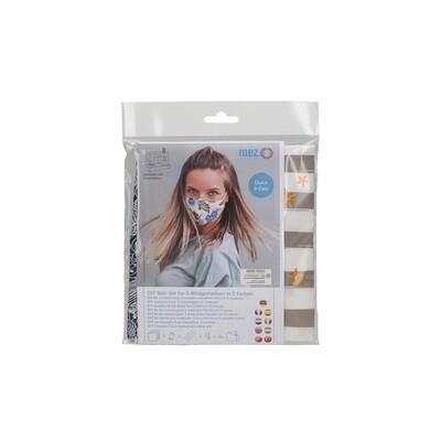 Kit de Costura DIY - 3 Máscaras Comunitárias (3 padrões da Coleção Dias de Praia)