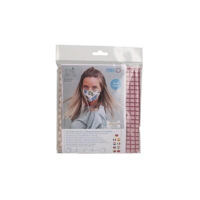 Kit de Costura DIY - 3 Máscaras Comunitárias (3 padrões da coleção Mandala Fantasy)