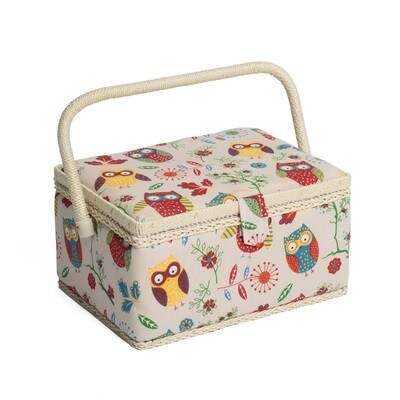Sewing Box Medium - Owl