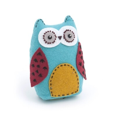 Owl Pincushion - Hoot