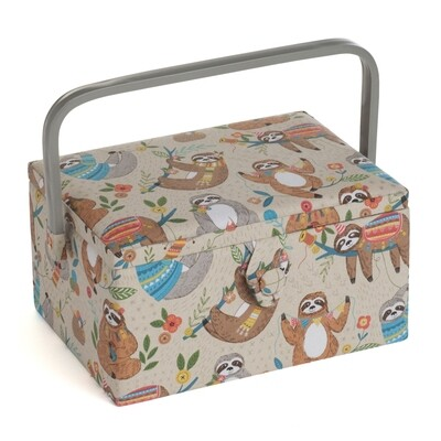 Sewing Box Medium - Sloth