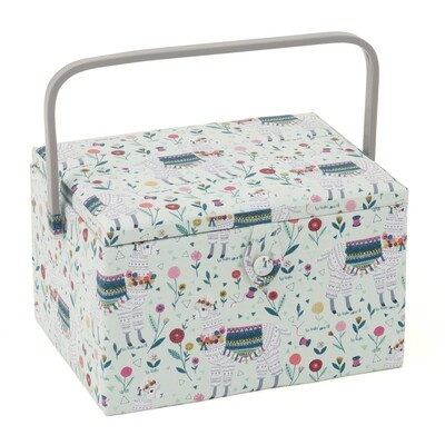 Sewing Box Large - Llama