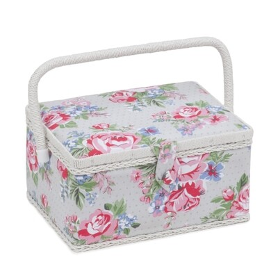 Sewing Box Medium - Rose