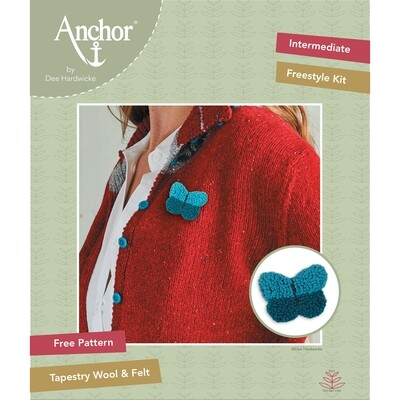 Anchor by Dee Hardwicke - Blue Butterfly Freestyle Kit