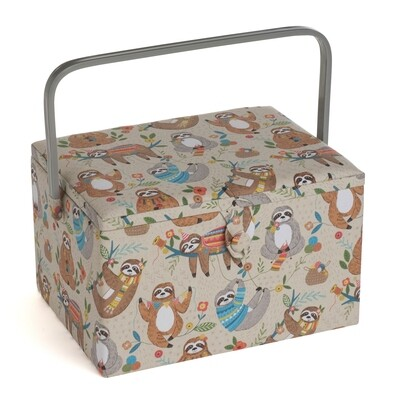 Sewing Box Large - Sloth