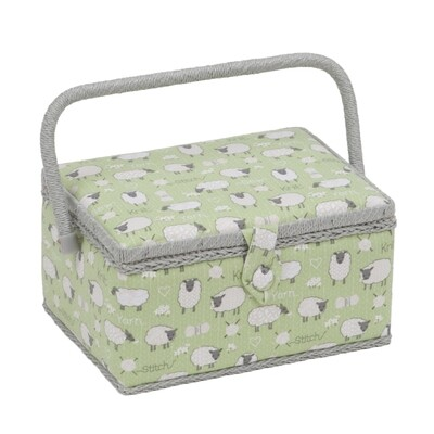 Sewing Box Medium - Sheep