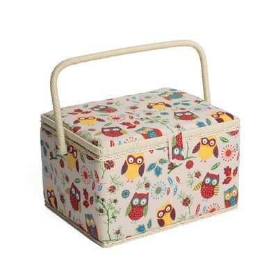 Sewing Box Large - Owl