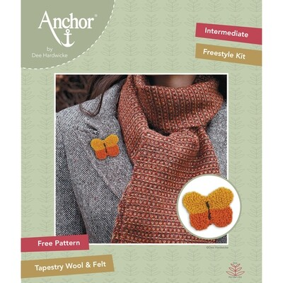 Anchor by Dee Hardwicke - Yellow Butterfly Freestyle Kit
