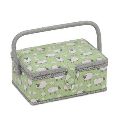 Sewing Box Small Rectangular - Sheep