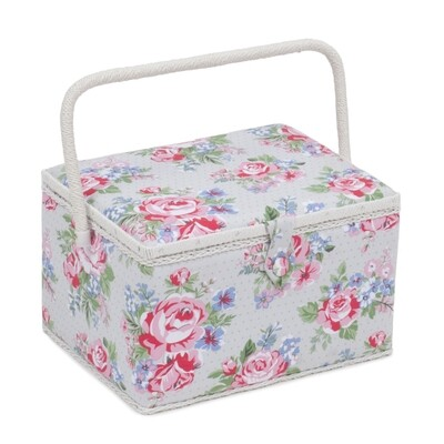 Sewing Box Large - Rose