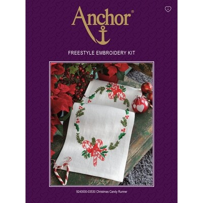 Anchor Essentials Freestyle Kit - Christmas Candy Runner