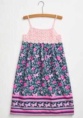 Modelo Kid Summer Dress in Pink