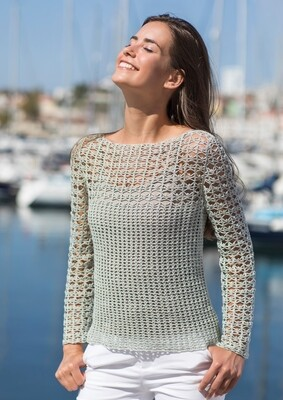 Elegant Lacy Sweater