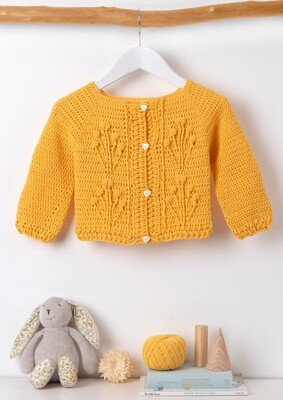 Lovely Yellow Cardigan