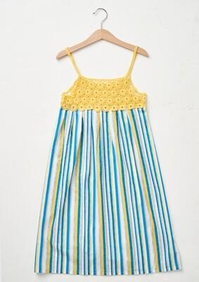 Modelo Kid Summer Dress in Yellow