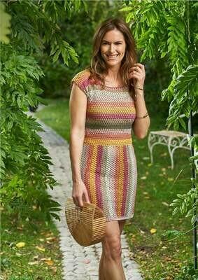 Modelo Sunset Stripe Dress