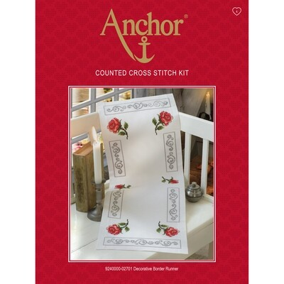 Anchor Essentials Cross Stitch Kit - Decorative Runner