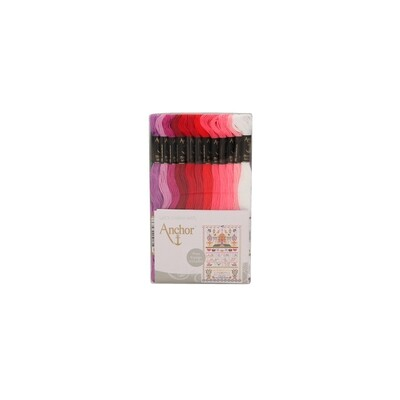 Anchor Club Assortment - Anchor Stranded Cotton 48 Skeins