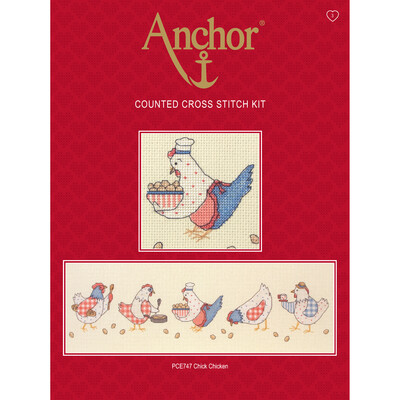 Anchor Essentials Cross Stitch Kit - Chick Chicken