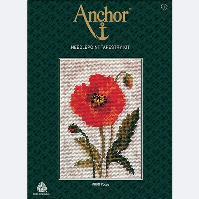 Anchor Starter Tapestry Kit - Poppy