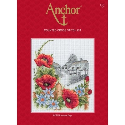 Anchor Essentials Cross Stitch Kit - Summer Days