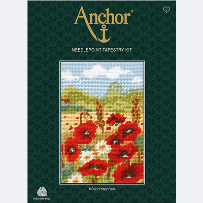 Anchor Starter Tapestry Kit - Poppy Field