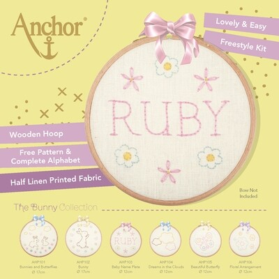 The Bunny Collection - Baby Name Plate