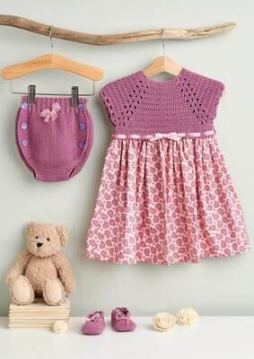 Modelo Baby Purple Dress, Pants and Booties