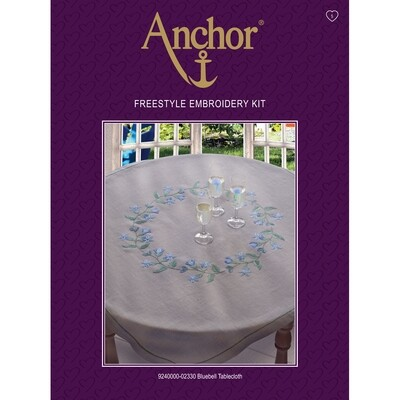 Anchor Essentials Freestyle Kit - Bluebell Tablecloth