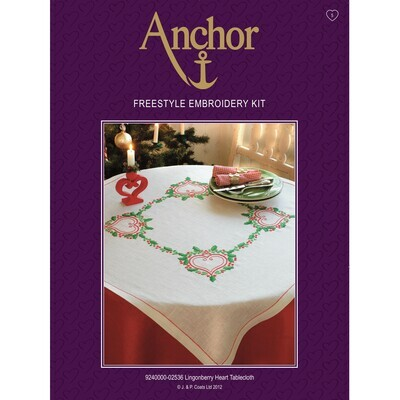 Anchor Essentials Freestyle Kit - Lingonberry Tablecloth