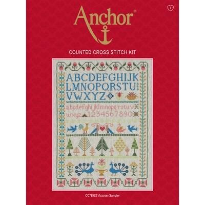 Anchor Essentials Cross Stitch Kit - Victorian Sampler