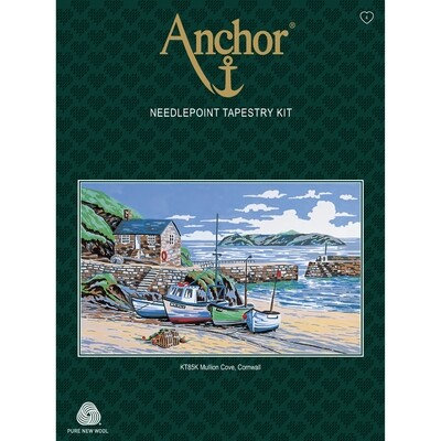 Anchor Essentials Tapestry Kit - Mullion Cove Cornwall