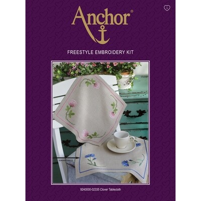Anchor Essentials Freestyle Kit - Clover Pink Tablecloth