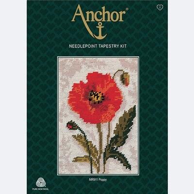 Anchor Starter Tapestry Kit - Poppy