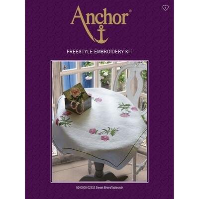 Anchor Essentials Freestyle Kit - Sweet Briers Tablecloth
