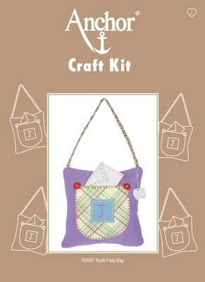 Anchor Craft Kit - Tooth Fairy Bag