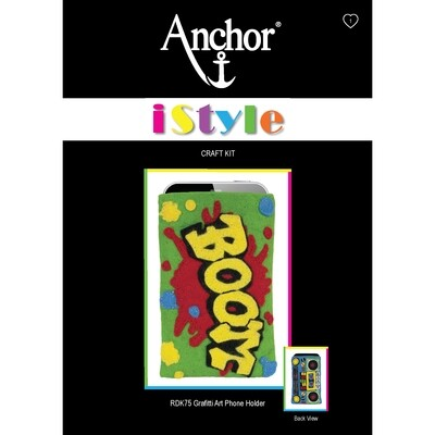 Anchor iStyle - Freestyle Grafitti Phone Holder