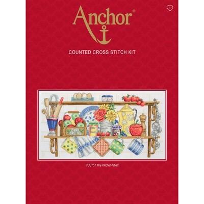 Anchor Essentials Cross Stitch Kit - The Kitchen Shelf