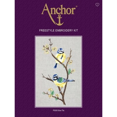 Anchor Essentials Freestyle Kit - Blue Tits